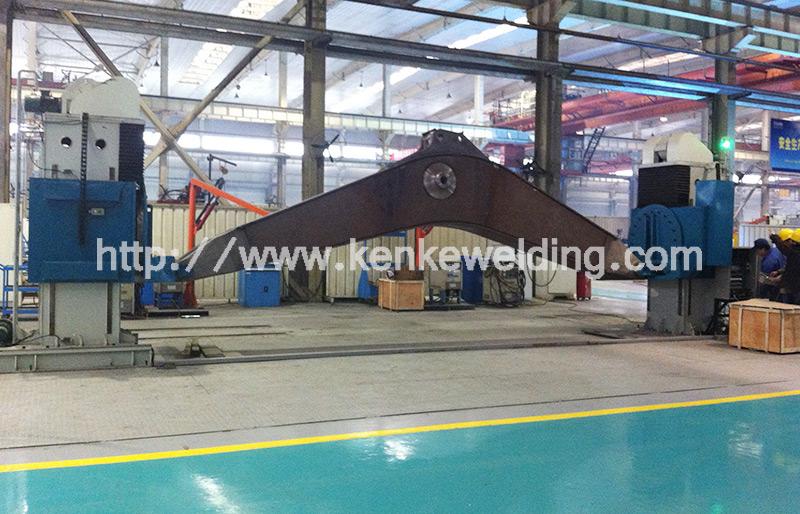 3t Beam Welding Positioner