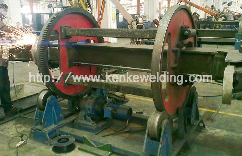 Gear-ring Welding Positioner