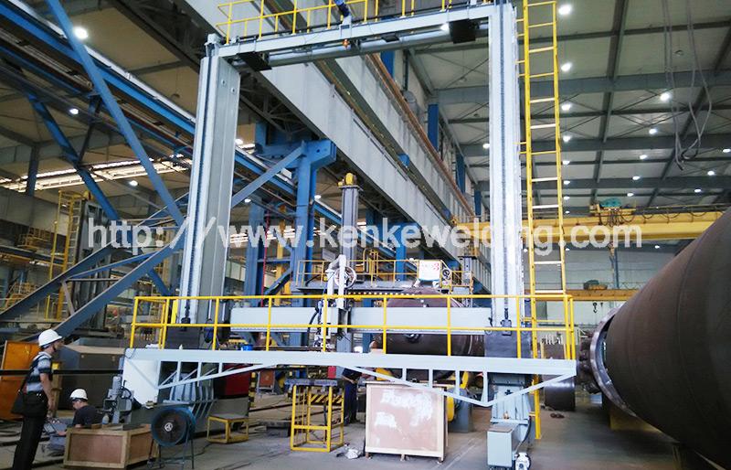 MH8040 Gantry type Welding Platform