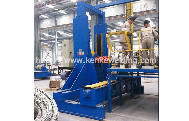 100t Pipe Turning Machine