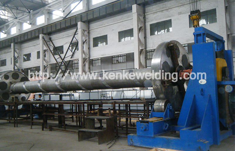 160t Pipe turning machine and Supporting rotator