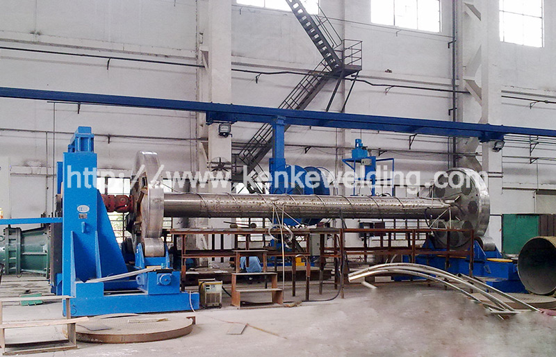 160t Pipe Wrapping Machine Working Station
