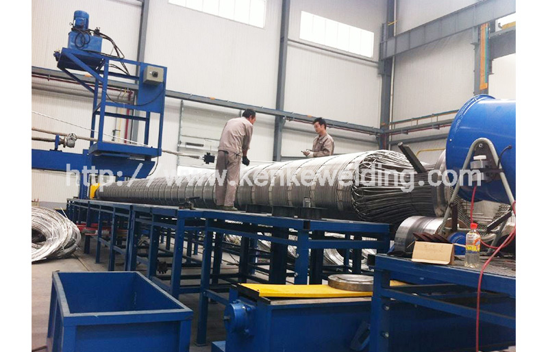 100t Pipe Wrapping Machine Working Station
