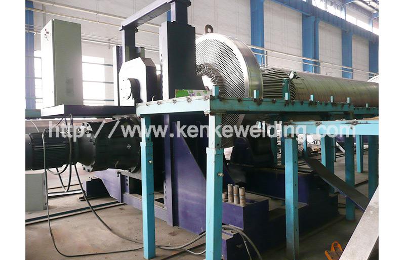 300T Pipe Turning Machine